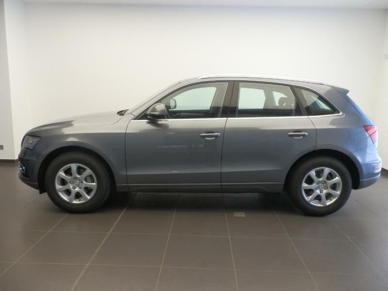 Audi Q5 2.0 TDI 150 Gris occasion à Beaupuy - photo n°4