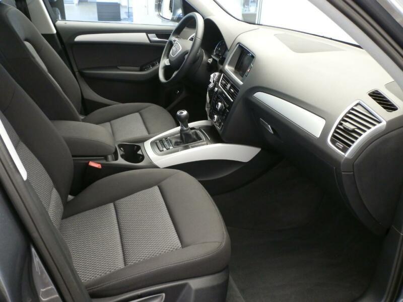 Audi Q5 2.0 TDI 150 Gris occasion à Beaupuy - photo n°5