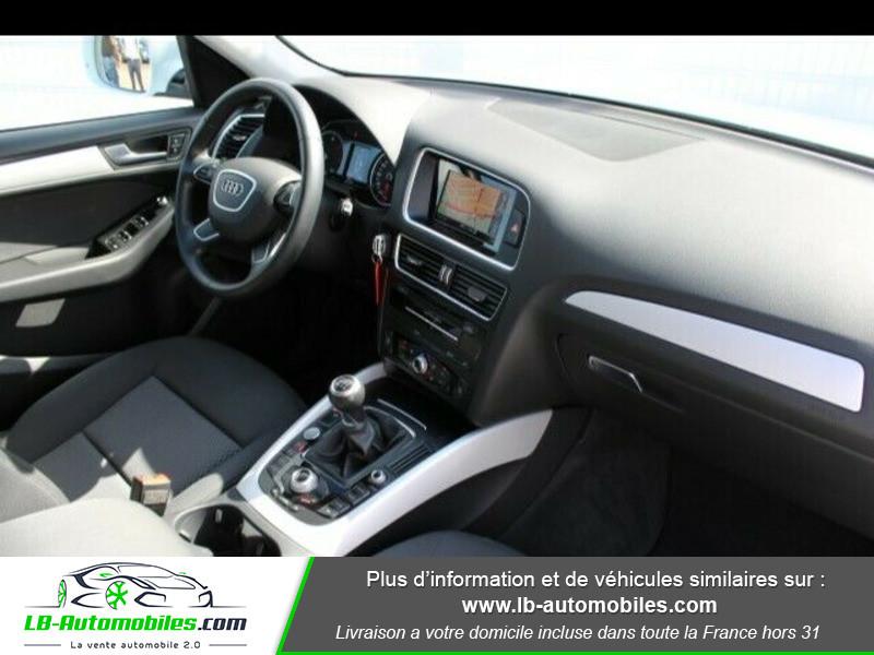 Audi Q5 2.0 TDI 150 Blanc occasion à Beaupuy - photo n°3