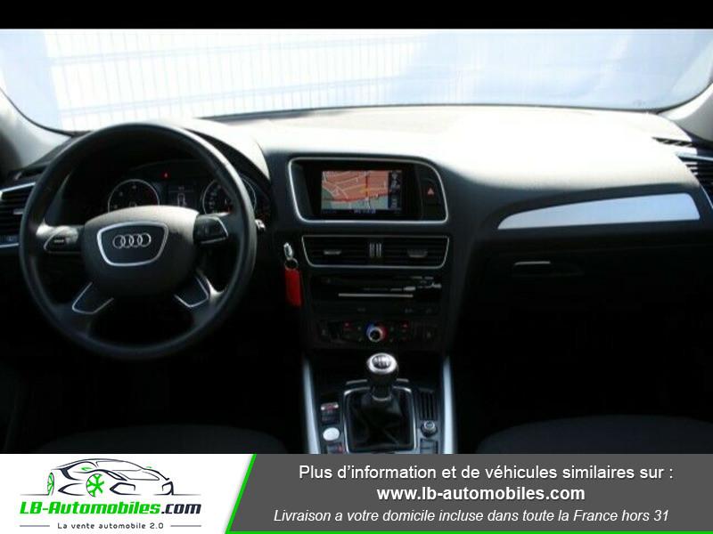 Audi Q5 2.0 TDI 150 Blanc occasion à Beaupuy - photo n°4