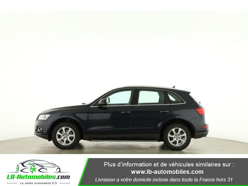 Audi Q5 2.0 TDI 163 S Tronic Bleu occasion à Beaupuy - photo n°8