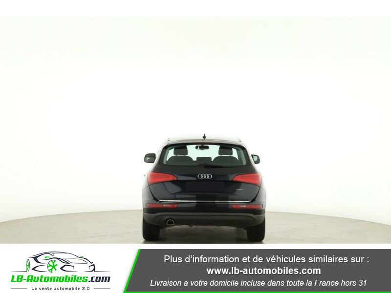 Audi Q5 2.0 TDI 163 S Tronic Bleu occasion à Beaupuy - photo n°9