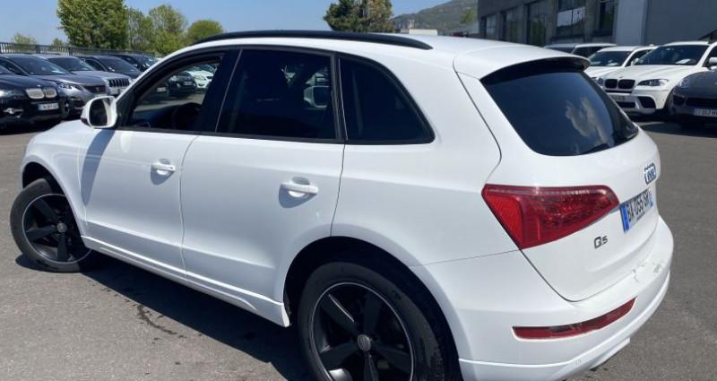 Audi Q5 2.0 TDI 170CH QUATTRO Blanc occasion à VOREPPE - photo n°3
