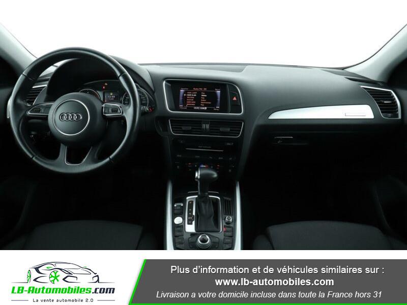 Audi Q5 2.0 TDI 177 / Quattro S tronic 7 Noir occasion à Beaupuy - photo n°2
