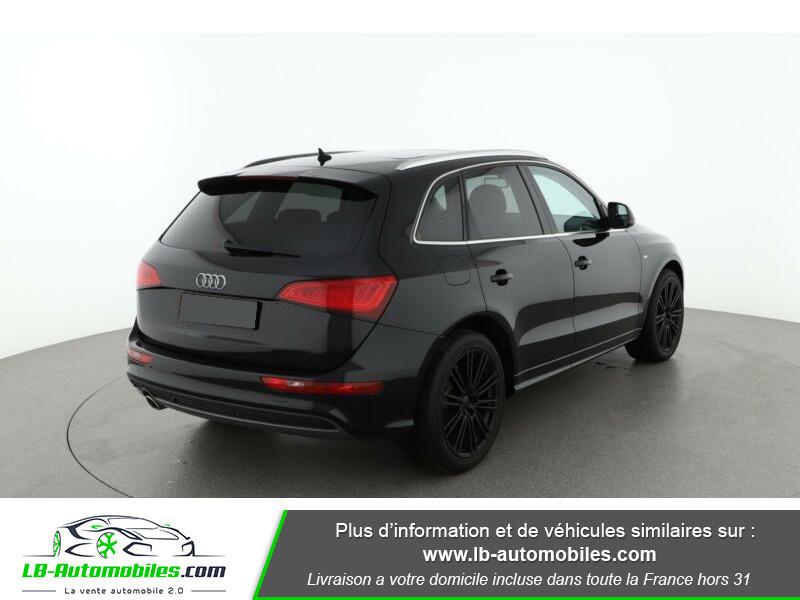 Audi Q5 2.0 TDI 177 / Quattro S tronic 7 Noir occasion à Beaupuy - photo n°3