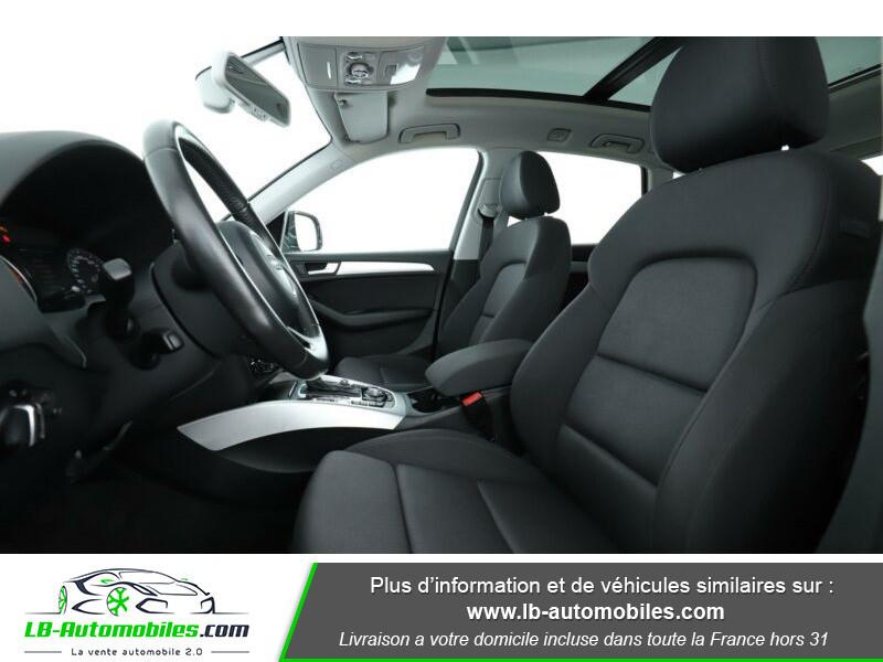Audi Q5 2.0 TDI 177 / Quattro S tronic 7 Noir occasion à Beaupuy - photo n°4