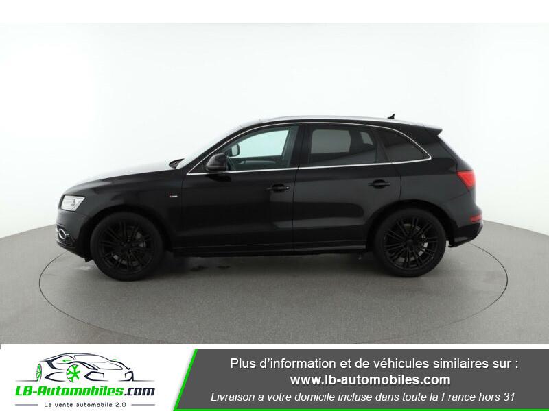 Audi Q5 2.0 TDI 177 / Quattro S tronic 7 Noir occasion à Beaupuy - photo n°9