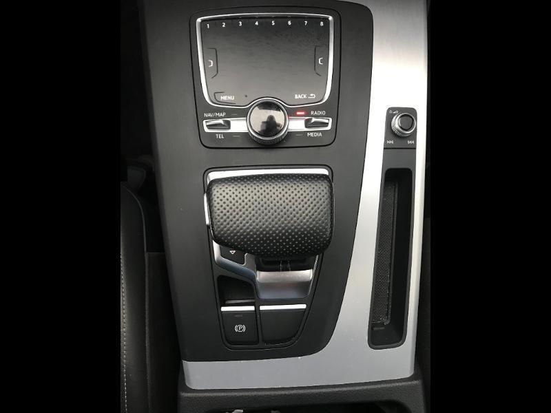 Audi Q5 2.0 TDI 190 ch S line quattro S tronic 7 Blanc occasion à Onet-le-Château - photo n°11