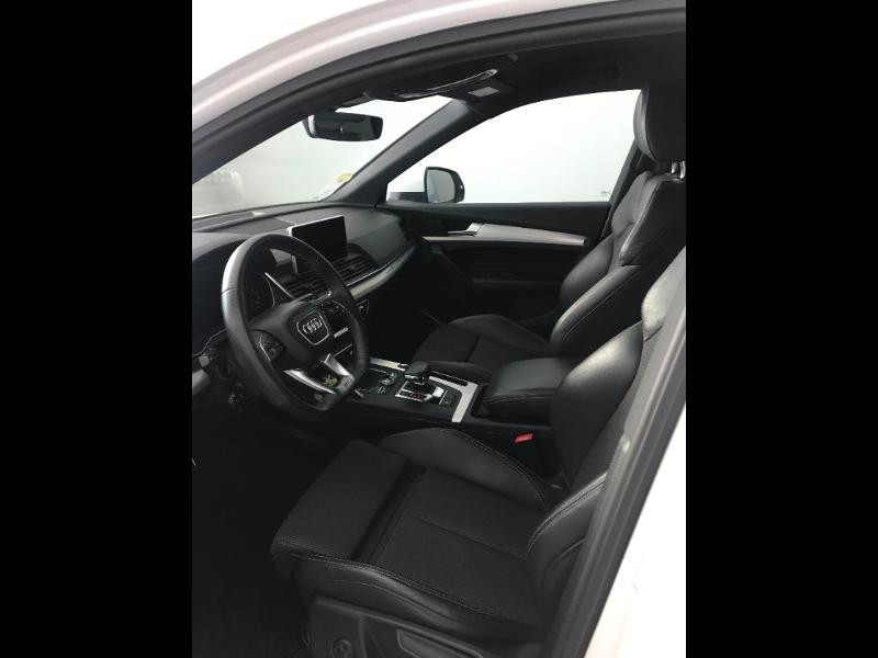 Audi Q5 2.0 TDI 190 ch S line quattro S tronic 7 Blanc occasion à Onet-le-Château - photo n°5