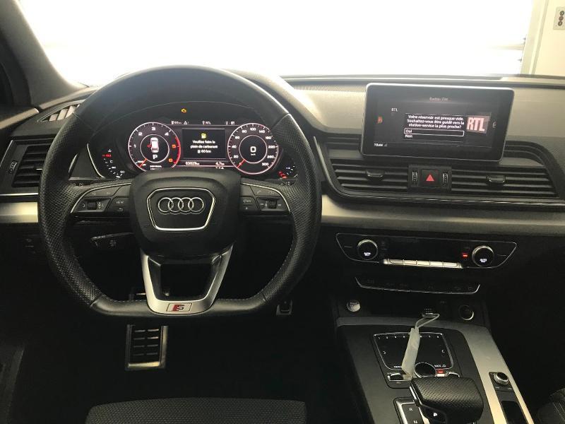 Audi Q5 2.0 TDI 190 ch S line quattro S tronic 7 Blanc occasion à Onet-le-Château - photo n°7