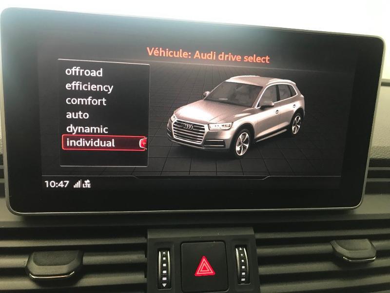 Audi Q5 2.0 TDI 190 ch S line quattro S tronic 7 Blanc occasion à Onet-le-Château - photo n°20