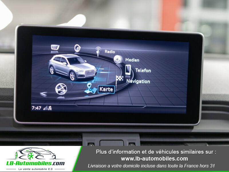 Audi Q5 2.0 TDI 190 Quattro S Line S Tronic Gris occasion à Beaupuy - photo n°7