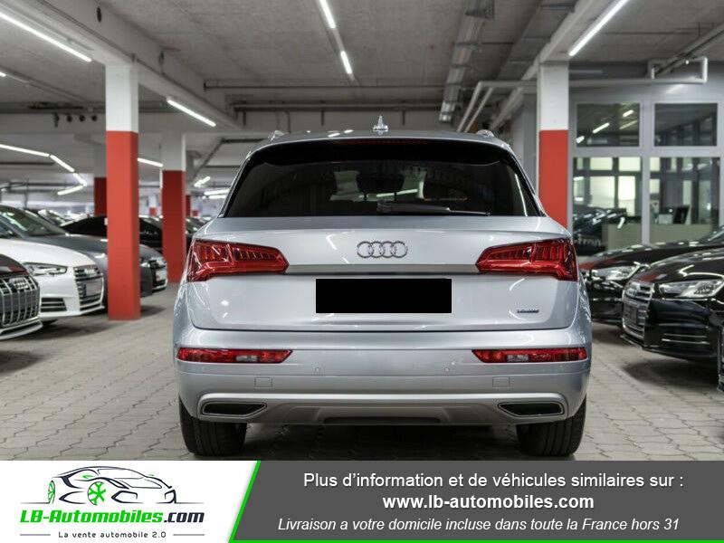 Audi Q5 2.0 TDI 190 Quattro S Line S Tronic Gris occasion à Beaupuy - photo n°4