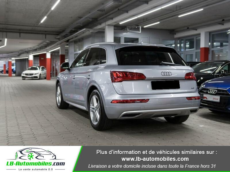 Audi Q5 2.0 TDI 190 Quattro S Line S Tronic Gris occasion à Beaupuy - photo n°3