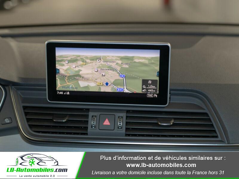 Audi Q5 2.0 TDI 190 Quattro S Line S Tronic Gris occasion à Beaupuy - photo n°6