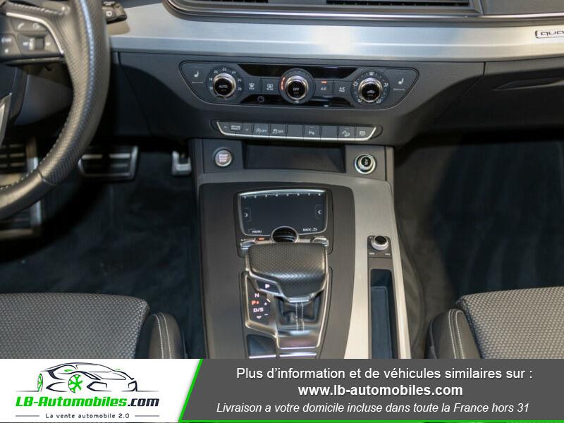 Audi Q5 2.0 TDI 190 Quattro S Line S Tronic Gris occasion à Beaupuy - photo n°8