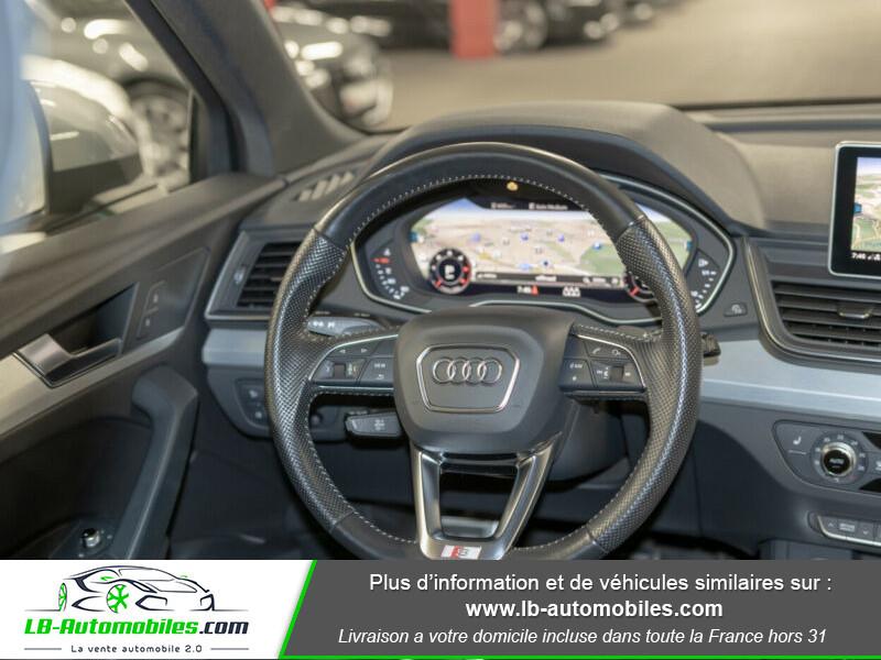 Audi Q5 2.0 TDI 190 Quattro S Line S Tronic Gris occasion à Beaupuy - photo n°2