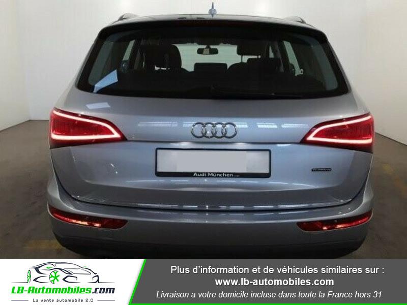 Audi Q5 2.0 TDI 190 Quattro Argent occasion à Beaupuy - photo n°5