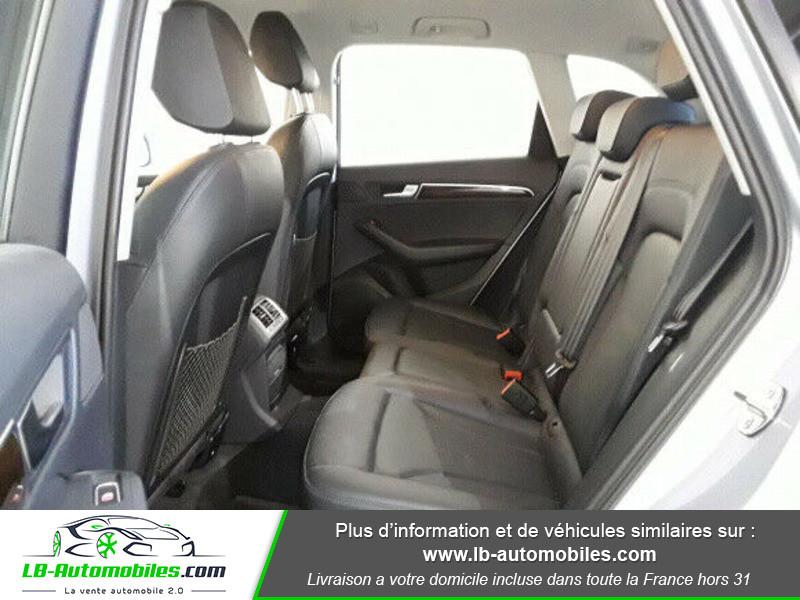 Audi Q5 2.0 TDI 190 Quattro Argent occasion à Beaupuy - photo n°8