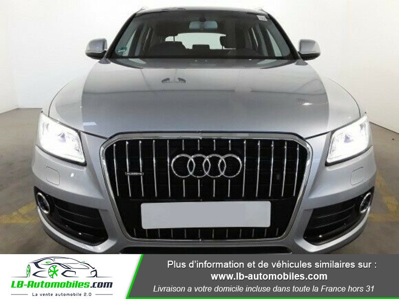 Audi Q5 2.0 TDI 190 Quattro Argent occasion à Beaupuy - photo n°4