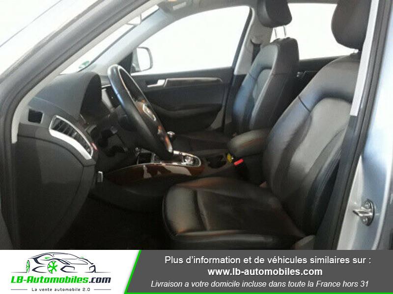 Audi Q5 2.0 TDI 190 Quattro Argent occasion à Beaupuy - photo n°7