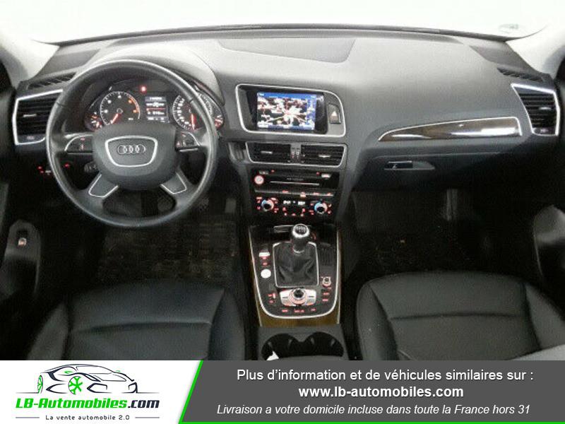 Audi Q5 2.0 TDI 190 Quattro Argent occasion à Beaupuy - photo n°2