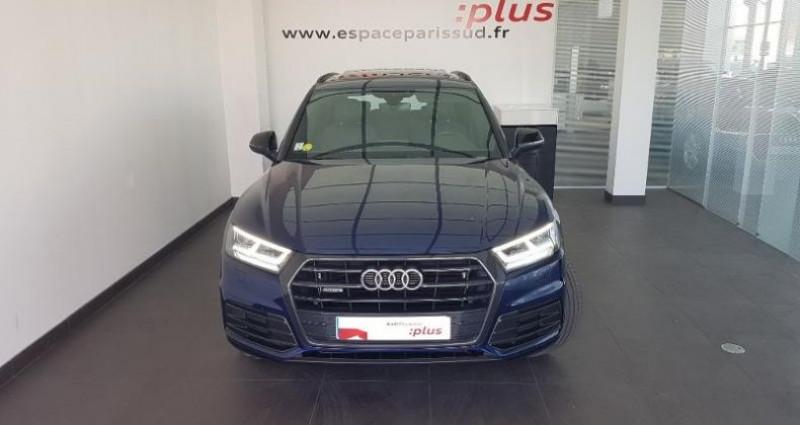 Audi Q5 2.0 TDI 190ch S line quattro S tronic 7 Bleu occasion à Chambourcy - photo n°2