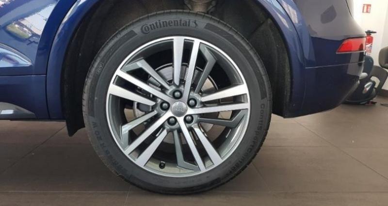 Audi Q5 2.0 TDI 190ch S line quattro S tronic 7 Bleu occasion à Chambourcy - photo n°6