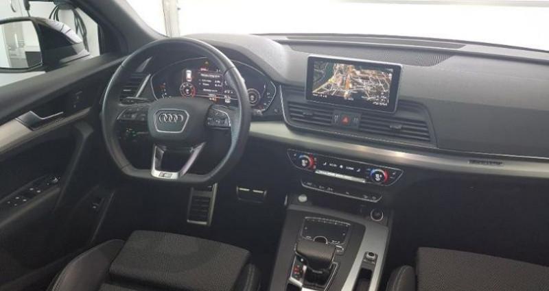 Audi Q5 2.0 TDI 190ch S line quattro S tronic 7 Bleu occasion à Chambourcy - photo n°5