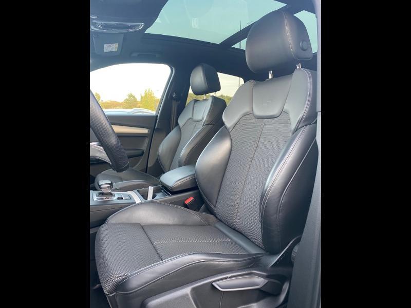 Audi Q5 2.0 TDI 190ch S line quattro S tronic 7 Vert occasion à Albi - photo n°4