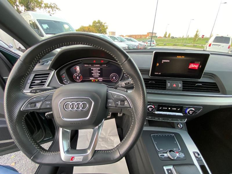 Audi Q5 2.0 TDI 190ch S line quattro S tronic 7 Vert occasion à Albi - photo n°12