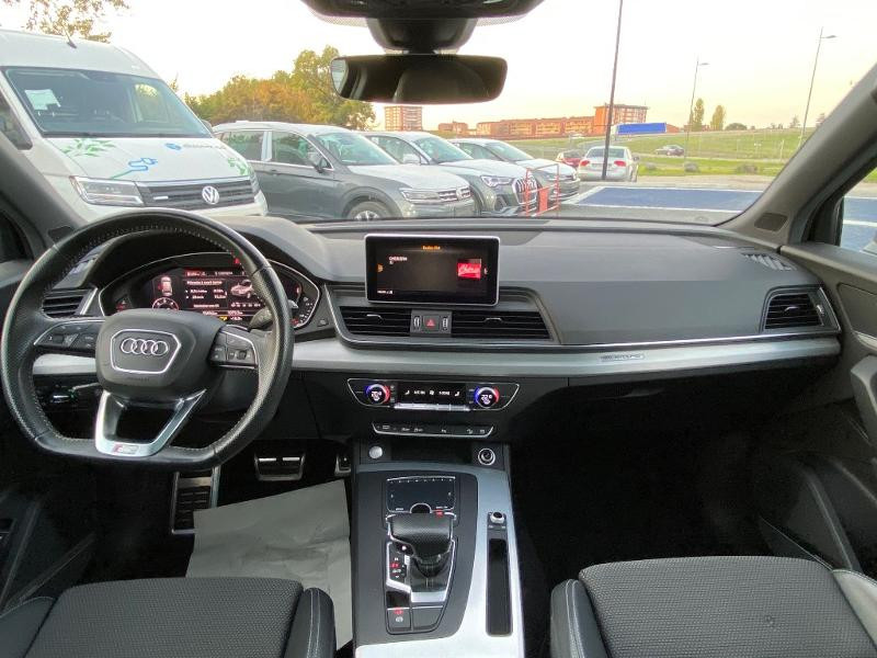Audi Q5 2.0 TDI 190ch S line quattro S tronic 7 Vert occasion à Albi - photo n°3