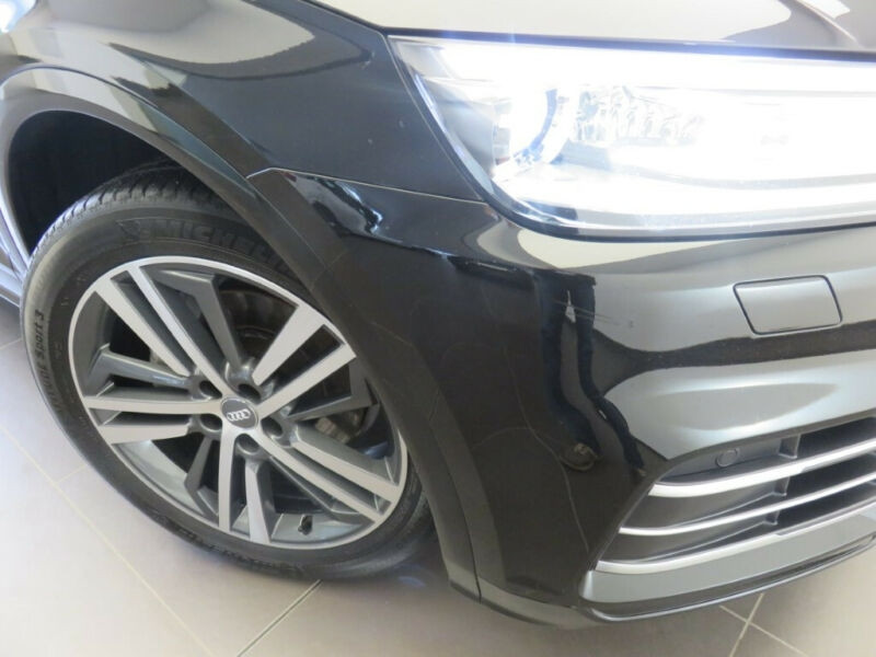 Audi Q5 2.0 TDI 190CH S LINE QUATTRO S TRONIC 7 Noir occasion à Villenave-d'Ornon - photo n°3