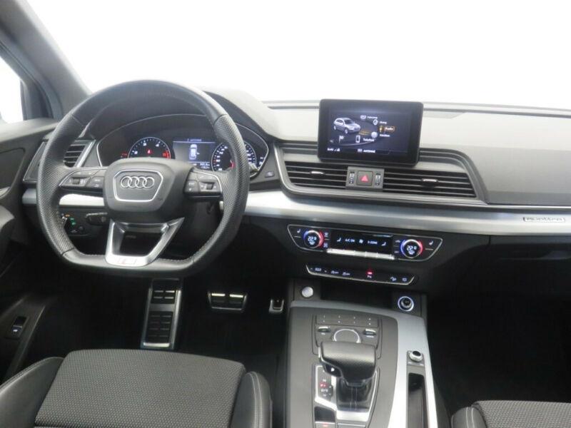 Audi Q5 2.0 TDI 190CH S LINE QUATTRO S TRONIC 7 Noir occasion à Villenave-d'Ornon - photo n°6
