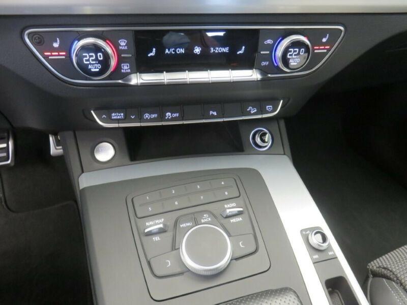 Audi Q5 2.0 TDI 190CH S LINE QUATTRO S TRONIC 7 Noir occasion à Villenave-d'Ornon - photo n°9