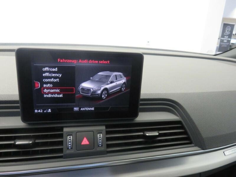 Audi Q5 2.0 TDI 190CH S LINE QUATTRO S TRONIC 7 Noir occasion à Villenave-d'Ornon - photo n°8