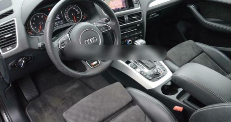 Audi Q5 2.0 TFSI 225ch S line quattro Tiptronic Gris occasion à Boulogne-Billancourt - photo n°5