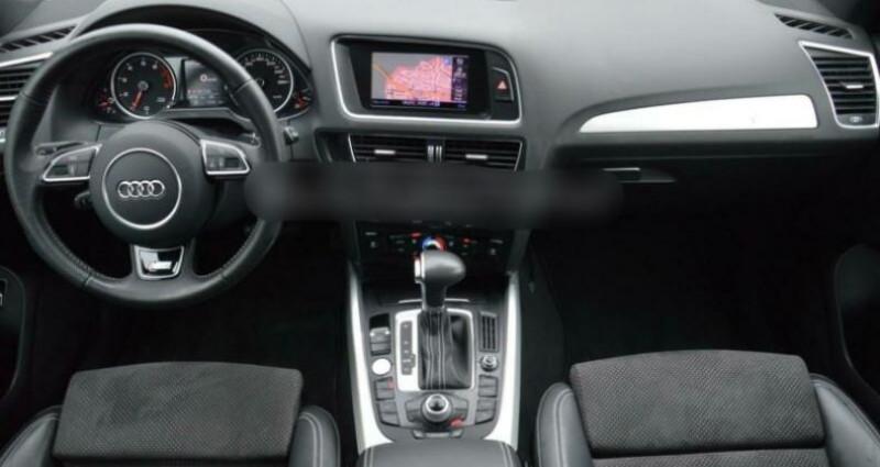 Audi Q5 2.0 TFSI 225ch S line quattro Tiptronic Gris occasion à Boulogne-Billancourt - photo n°4
