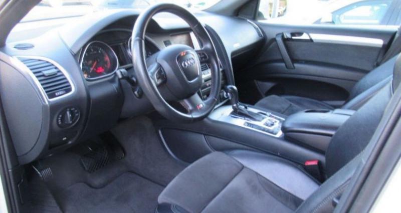 Audi Q5 3.0 TDI 239  quattro S- Line (03/2009) Blanc occasion à Saint Patrice - photo n°7
