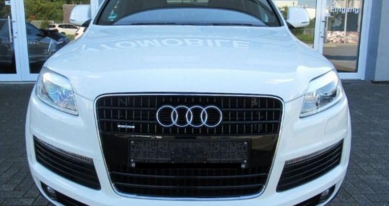 Audi Q5 3.0 TDI 239  quattro S- Line (03/2009) Blanc occasion à Saint Patrice - photo n°3