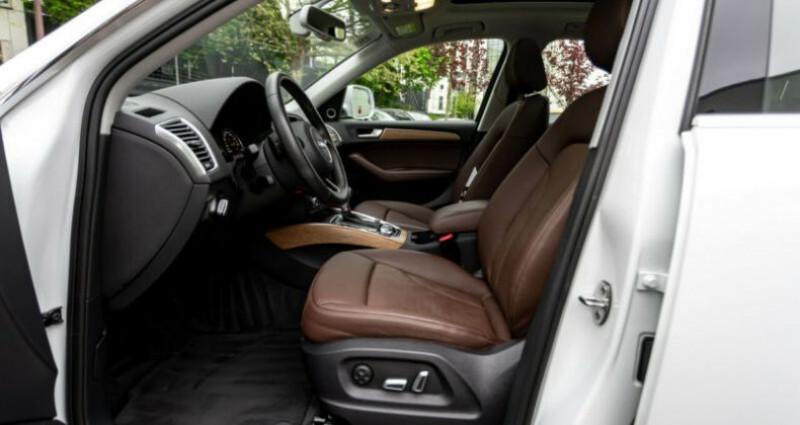 Audi Q5 3.0 TDI 258 CH S LINE Blanc occasion à Boulogne-Billancourt - photo n°6