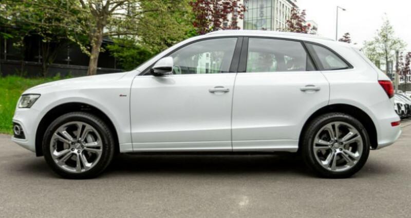 Audi Q5 3.0 TDI 258 CH S LINE Blanc occasion à Boulogne-Billancourt - photo n°5