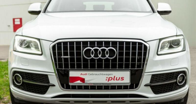 Audi Q5 3.0 TDI 258 CH S LINE Blanc occasion à Boulogne-Billancourt - photo n°2