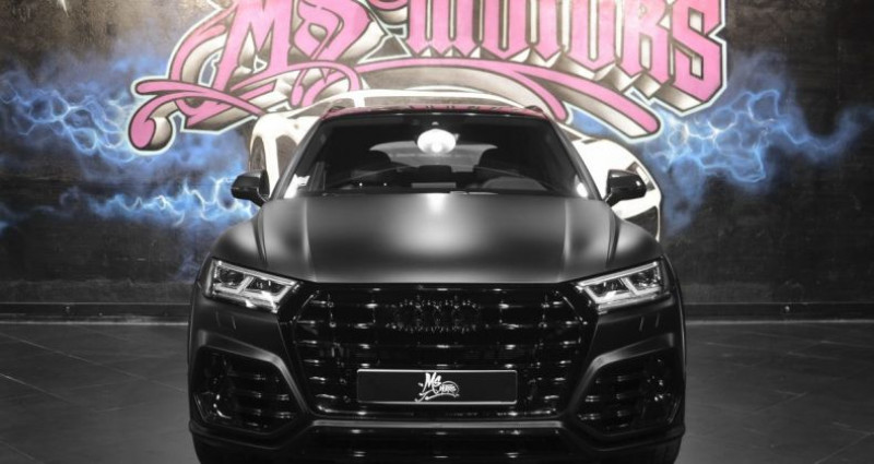 Audi Q5 3.0 TDI 286 S LINE KIT ABT Noir occasion à CANNES - photo n°2