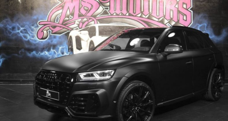 Audi Q5 3.0 TDI 286 S LINE KIT ABT Noir occasion à CANNES