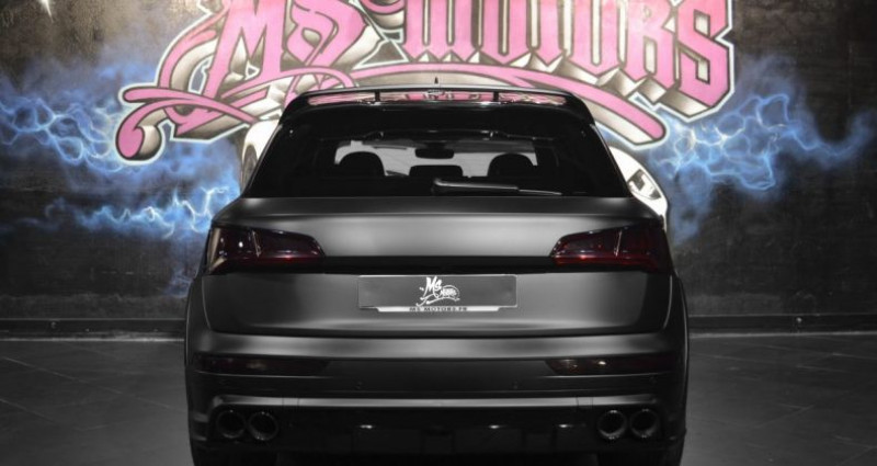 Audi Q5 3.0 TDI 286 S LINE KIT ABT Noir occasion à CANNES - photo n°4