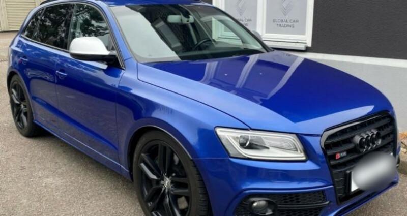 Audi Q5 3.0 TDI 326 CH COMPETITION Bleu occasion à Boulogne-Billancourt - photo n°2