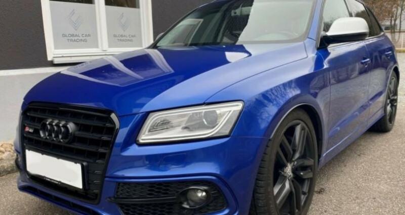 Audi Q5 3.0 TDI 326 CH COMPETITION Bleu occasion à Boulogne-Billancourt
