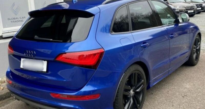 Audi Q5 3.0 TDI 326 CH COMPETITION Bleu occasion à Boulogne-Billancourt - photo n°3