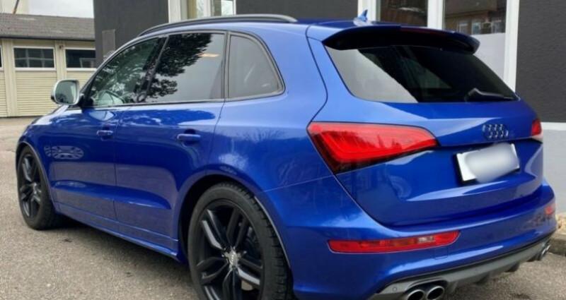 Audi Q5 3.0 TDI 326 CH COMPETITION Bleu occasion à Boulogne-Billancourt - photo n°7